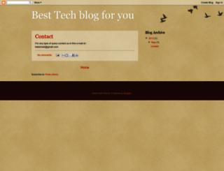 besttechblogforyou.blogspot.com screenshot