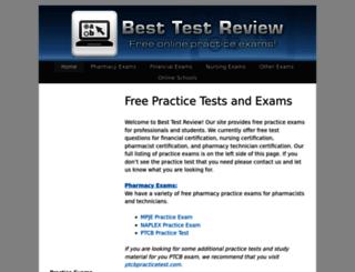 besttestreview.com screenshot