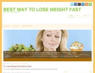 besttoloseweightfast.com screenshot