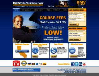 besttrafficschool.com screenshot
