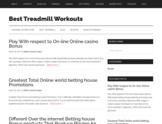 besttreadmillworkouts.com screenshot