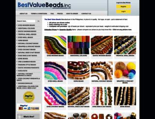 bestvaluebeads.com screenshot