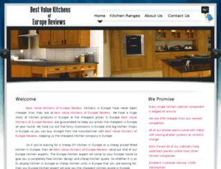 bestvaluekitchensofeuropereviews.com screenshot