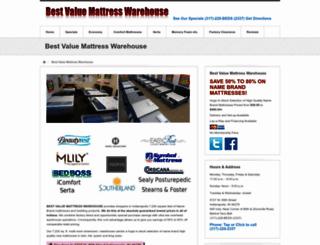 bestvaluemattress.com screenshot