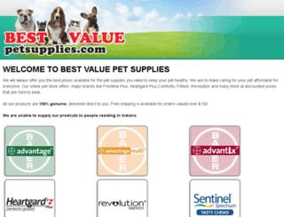 bestvaluepetsupplies.com screenshot