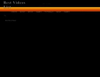 bestvideoslist.blogspot.com screenshot