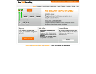 bestvoipreselling.com screenshot