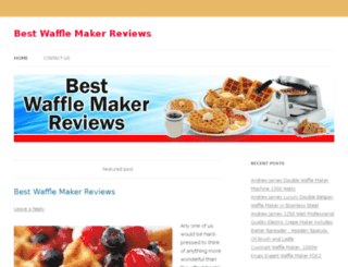 bestwafflemaker.co.uk screenshot