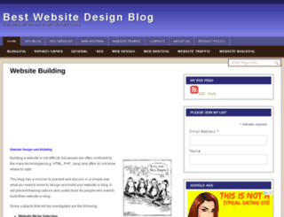 bestwebsitedesignblog.com screenshot