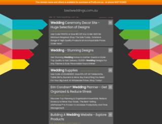 bestweddings.com.au screenshot