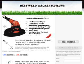bestweedwackerreviews.com screenshot