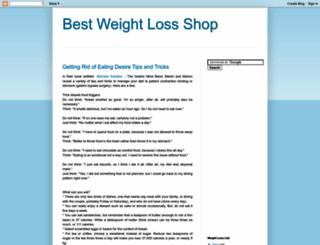 bestweightlossshop.blogspot.com screenshot