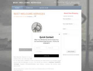 bestwelcomevaletservices.weebly.com screenshot
