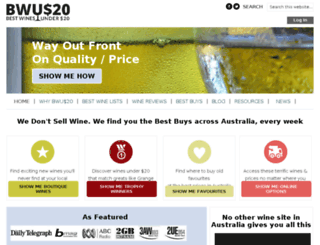 bestwinesunder20.com.au screenshot