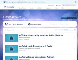 besuch.disneylandparis.de screenshot