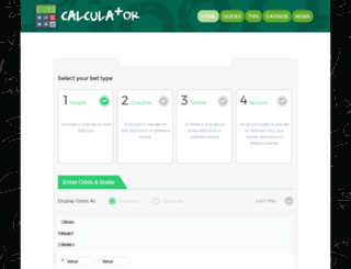 bet-calculator.co.uk screenshot