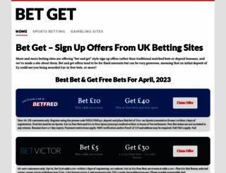 bet-get.com screenshot