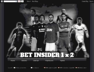 bet-insider.blogspot.com screenshot