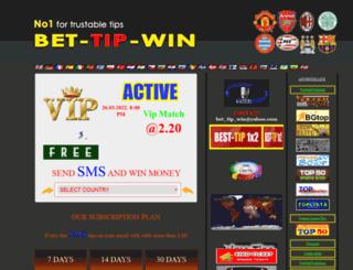 bet-tip-win.com screenshot