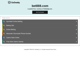 bet888.com screenshot
