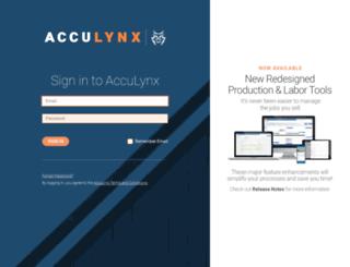 beta-my.acculynx.com screenshot