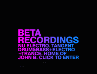 beta-recordings.co.uk screenshot