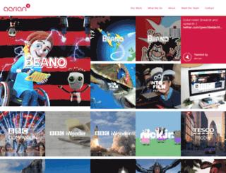beta.aerian.com screenshot