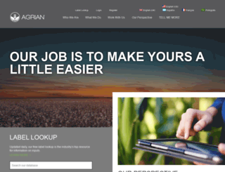 beta.agrian.com screenshot