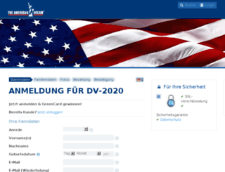 beta.americandream.de screenshot