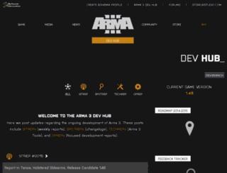 beta.arma3.com screenshot