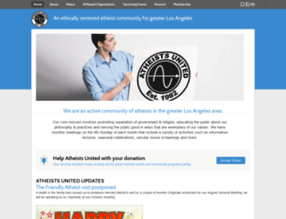 beta.atheistsunited.org screenshot