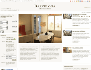 beta.barcelona-accommodation.info screenshot