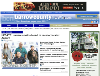 beta.barrowcountynews.com screenshot