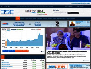 beta.bseindia.com screenshot