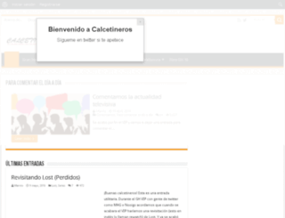 beta.calcetineros.com screenshot