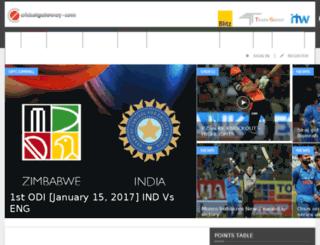 beta.cricketgateway.com screenshot