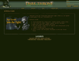 beta.darkthrone.com screenshot