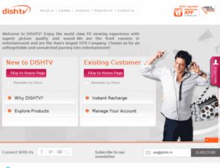 beta.dishtv.in screenshot