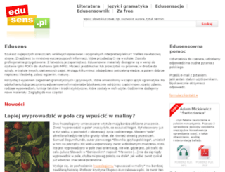 beta.edusens.pl screenshot
