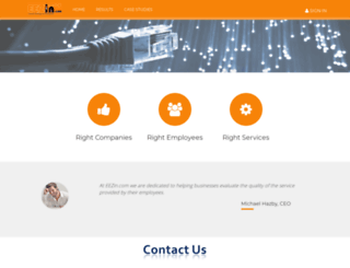 beta.eezin.com screenshot