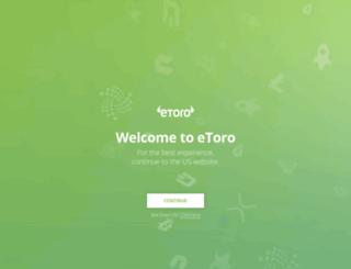 beta.etoro.com screenshot