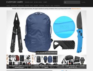 beta.everydaycarry.com screenshot