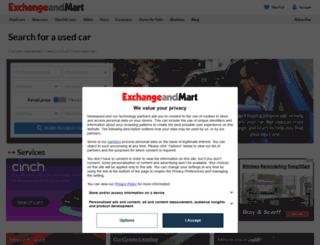 beta.exchangeandmart.co.uk screenshot