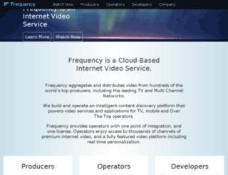 beta.frequency.com screenshot