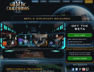 beta.galciv3.com screenshot