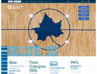 beta.indstate.edu screenshot
