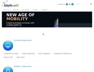 beta.intelliswift.co.in screenshot