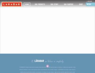beta.larabar.com screenshot