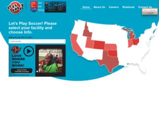 beta.letsplaysoccer.com screenshot