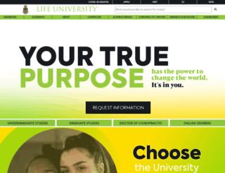 beta.life.edu screenshot